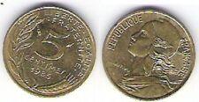 """Pièce de monnaie de """"France"""" 5 centimes (1985)"""