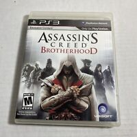 Assassin's Creed Brotherhood PS3 Complete (Sony PlayStation 3) Video Game F/S