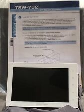 "Crestron CORE3 TSW-752 7"" White touch panel, SIP intercom, voice recognition NEW"