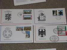 Europa FDC`s, 16 different with description cards