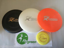 FRISBEE DISC GOLF DISCRAFT X PLASTIC BUILD YOUR OWN SET OF 3 DISKS + MINI MARKER