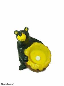 Bearfoot Bear Honey Pot Candle Holder! Bin K