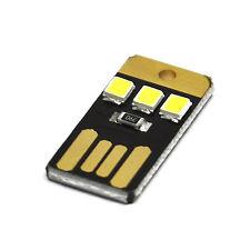 Arduino 5x Super Mini USB Light Ultra Slim USB Light For Laptop/Keyboard/Camping