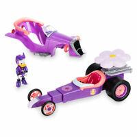 Disney Daisy Duck Transforming Pullback Race Car - Mickey Roadster Racers Figure