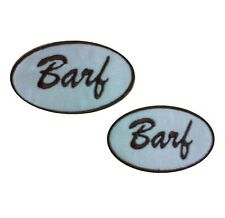 1 x COSPLAY Barf Overall Logo Sew 'n' Iron On Patch Motif