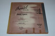 Square Dances Without Calls~Harley Luse~Al Toft~Imperial Records FD-101