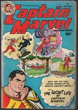 "CAPTAIN MARVEL ADVENTURES #77 FAWCETT 10/47 ""SECRET LIFE""++  C.C. BECK CVR FNVF"