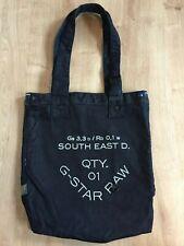 Brand New G-Star Denim Logo Tote Shopper Bag