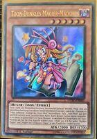 YuGiOh Toon Dark Magician Girl Ultra Rare 1st Edition DUPO-DE041 NM German