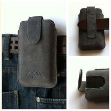 Handy-Taschen & -Schutzhüllen aus Leder mit Gürtelschlaufe für Samsung