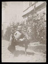 fotografia d'epoca albumina fine '800 BAMBINO-CHILD-KIND-ENFANT 18