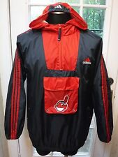 "Adidas MLB Baseball ""Cleveland Indians"" Hoodie Windbreaker Jaket ""Youth 18/20"""