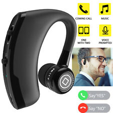Wireless Business Bluetooth Headset Earphone For iPhone 8 7 Plus Google Htc Lg