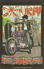 SAMURAI   # 4  - COMIC  - 1986  -  9.2