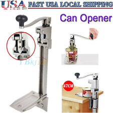 13 Large Heavy-Duty Commercial Kitchen Restaurant Food Big Can Opener Table US