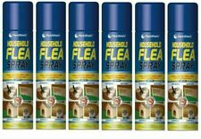 6x Flea Killer Spray treatment Cat Dog Pets Bed Carpet Home Pest Control New