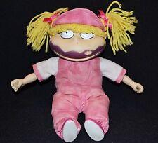 Vintage Rugrats Angelica Pickles Popsicle Face Plush Doll 1997 Mattel PA-8301