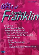 Partition pour piano voix guitare - The Best of Aretha Franklin