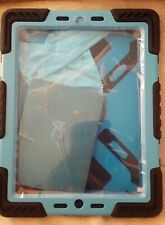 PEPKO IPAD 2 CASE Afranker light blue and black NEW