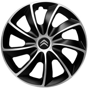 """16"""" WHEEL TRIMS COVERS for Citroen Dispatch   SET OF 4 x16 '' new logo"""