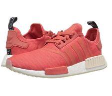 Adidas Originals Women's NMD_R1 Running Shoe, Trace Scarlet/White, Size 10