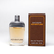 Davidoff ADVENTURE EDT 7.5 ml Mini Perfume Miniature Bottle NEW IN BOX