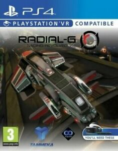 Radial-G: Racing Revolved (Playstation 4 PS4) Great Condition