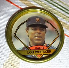 LOU WHITAKER -- 1990 TOPPS METAL COIN --  #32 -- MINT CONDITION