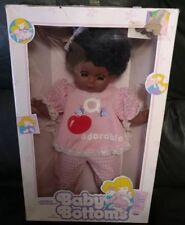 "1989 Goldberger 15"" Black African American Baby Bottoms Doll Vinyl/Cloth NIB"