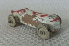 Great Vintage 1930's SUN RUBBER COMPANY Molded Rubber Toy Race Car #3