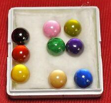Powerful Nok Phra Gow 9 Colors Ball  Lucky Gems Naga Eye Crystal Thai Amulet#R60