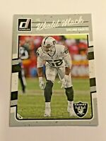 2016 Panini Donruss Football Base Card - Khalil Mack - Oakland Raiders