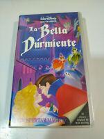 La Bella Durmiente Walt Disney - VHS Cinta Tape Español nueva y Precintada - 3T