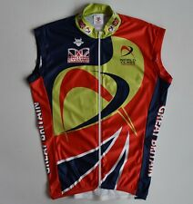 Vest Impsport British Cycling Federation World Class Great Btitain Jersey Mens M