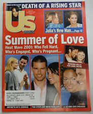 Us Weekly Magazine Tom Cruise & Penelope Aaliyah September 2001 042715R