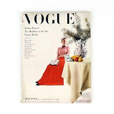 Vintage JULY ISSUE 1944 VOGUE Fashion Beauty Magazine Issue RARE Vanity Fair