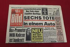 Bild Zeitung 23. Mai 1960 zum 60. Geburtstag *