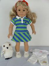 2010 American Girl Doll Lanie Wild Life Wildlife Set OWL ONLY Retired