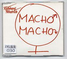 Rainhard Fendrich Maxi CD Macho Macho - 3 brani CD - Ariola 661 549