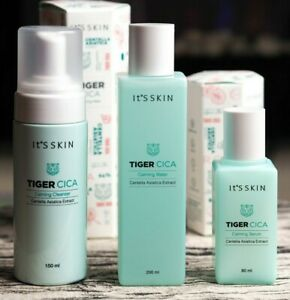 Its SKIN Tiger CICA Calming Water Serum Cleanser Hydrating Facial Care New UK
