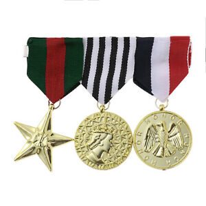 Durable Army Military Officer Medals Combat Hero Honor Medals Costume Accessory