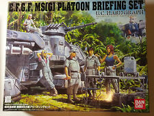 rare E.F.G.F. Ms(G) Platoon Briefing Set U.C. Hardgraph model made in 2007