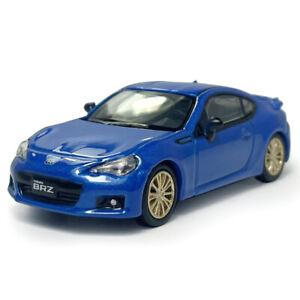 1:64 Subaru BRZ Sports Car Model Car Diecast Toy Vehicle Kids Collection Blue