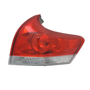 TO2805109C New Replacment Passenger Side Outer Tail Light Assembly