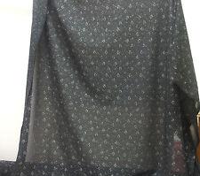 Black and Silver Stretch Lace Fabric, price per 1 metre, Dance, Costume, New