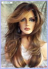 Angelica PM by Noriko Wigs (partial mono) MARBLE BROWN  LR New Cute AUTHENTIC