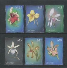 Lesotho - 1999, Orchids of the World set - MNH - SG 1577, 1605/9