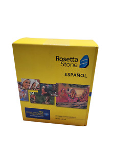 Rosetta Stone Espanol Spanish (Latin America) Level 1, 2, 3 - Sealed - 2014