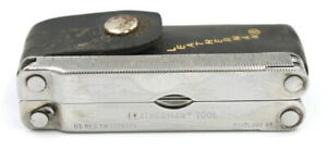 LEATHERMAN Multi Tool -Original PST with Leather Sheath - Folding Knife