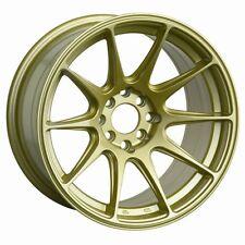18x875 Xxr 527 Wheels 5x1001143 Gold Rims Et35mm Fits Sti Sedan Impreza Wrx